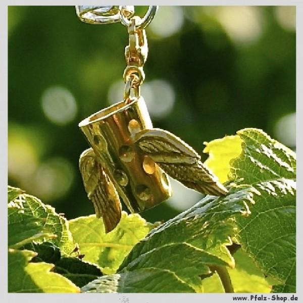 DubbeAnhänger Dubbemania vergoldet mit Flügelchen