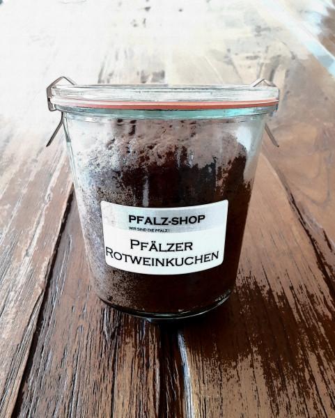Rotweinkuchen im großen Weckglas 275g