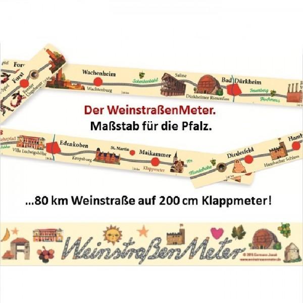 Weinstraßenmeter - die Pfalz in voller Länge!