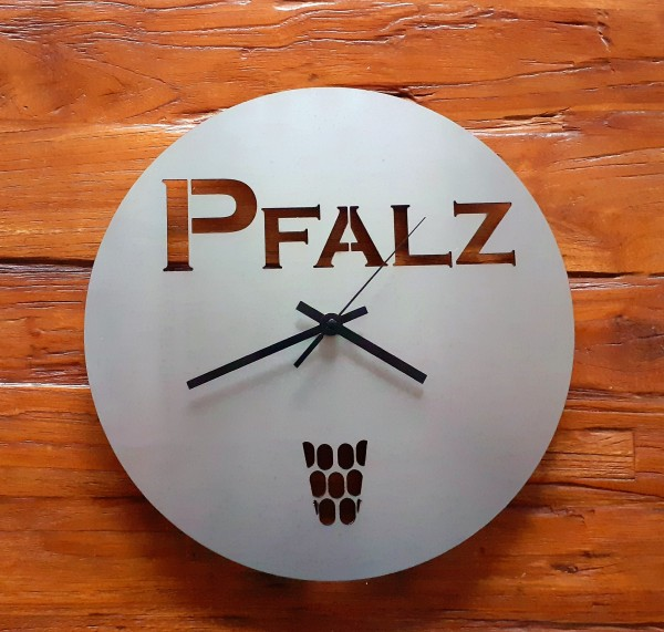Pfalz Uhr 32cm und 2mm Stahl!