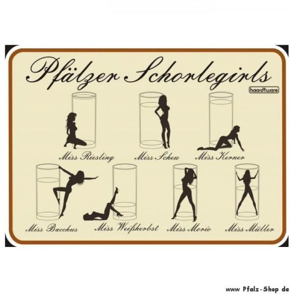 Postkarte Schorlegirls