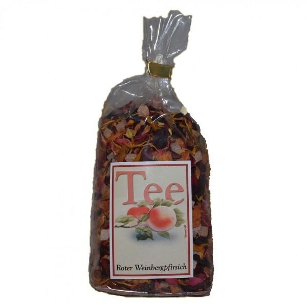 Roter Weinbergspfirsichtee 100g -Früchte Tee-