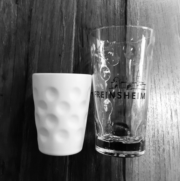 Dubbebecher -Keramik 0,25l