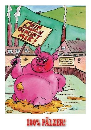 Postkarte Pfälzer Saumage