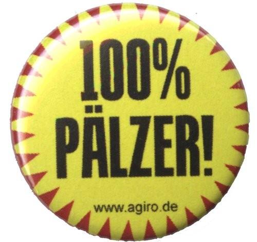 Button -Ansteckpin 100% Pfälzer - Pfälzerin