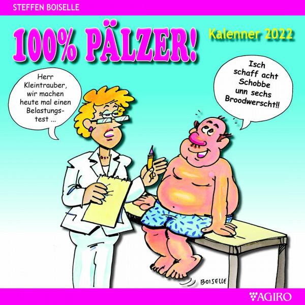 100% Pfälzer Kalender 2022