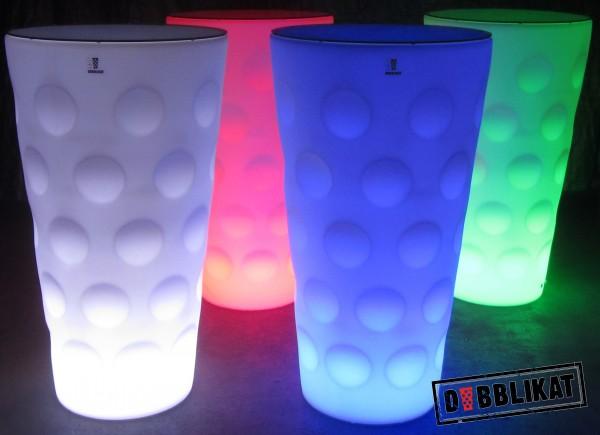 Dubbe LED Stehtisch