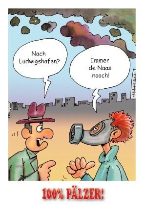 Postkarte Ludwigshafe