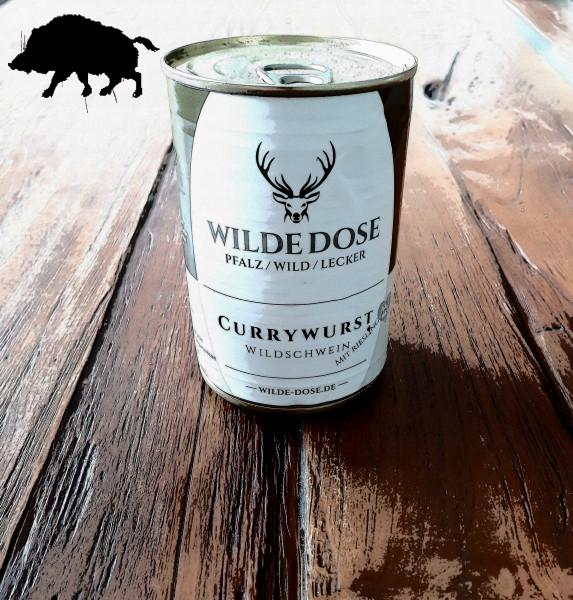 Pfälzer Wildschwein Currywurst mit Riesling 420ml