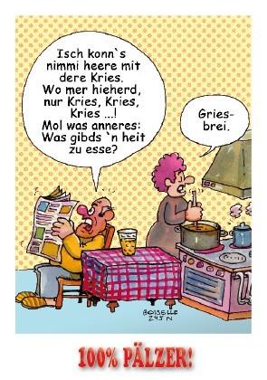 Postkarte Die Kries