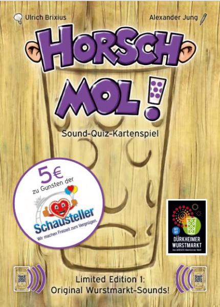 Wurstmarktspiel - Horsch mol!
