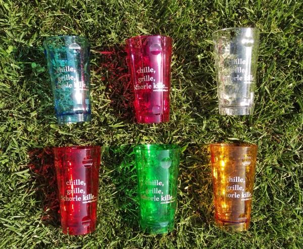 Dubbebecher 0,5l bunt - 5 Farben zur Auswahl