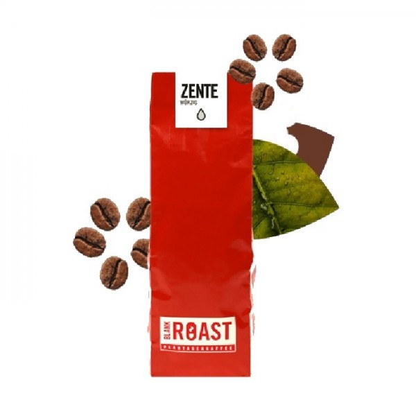 Rebholzröstung --- Kaffee Zente 250g - Bio