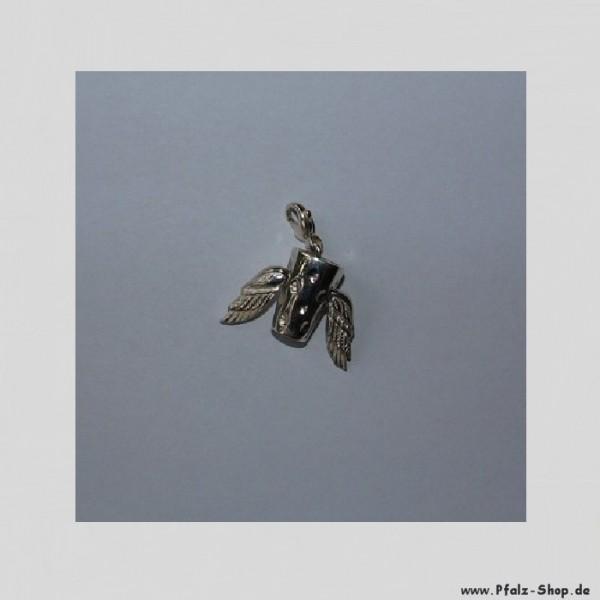 DubbeAnhänger Dubbemania mit Flügelchen - 925er Silber